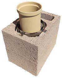 schamotterohre keramikrohr f r den schornstein. Black Bedroom Furniture Sets. Home Design Ideas